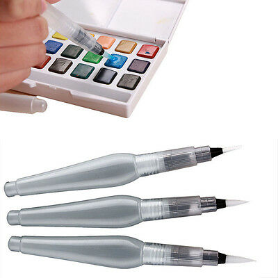 Refillable Pilot Water Brush Ink Pen Painting Calligraphy Watercolor Drawing Pen
