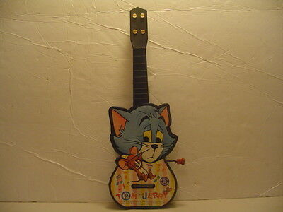 Vintage 1965 Tom And Jerry Toy Guitar By Mattel Inc Toymakers, Works, Exc!