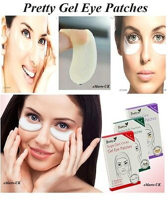 Pretty Gel Eye Patches Soothes Puffy Tired, Dark Circles, Wrinkle Care Eyes