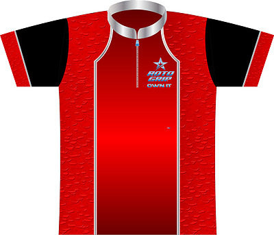 Roto Grip Red Drops Dye-Sublimated Bowling Jersey NEW!