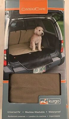 Kurgo Waterproof Car and SUV Cargo Cape Liner / Cover for Dogs Hampton Sand