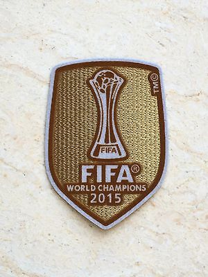 2015 UEFA FIFA World Champions League Badge Patch For Barcelona Soccer Jersey