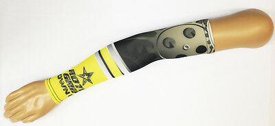 Roto Grip Black/Yellow Bowling Compression Arm Sleeve