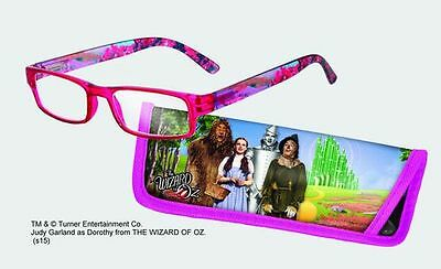 Spoontiques Reading Glasses w/  Matching Case Wizard of Oz