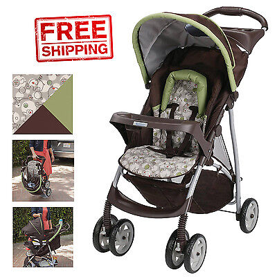 Graco LiteRider Stroller Click Connect Zuba Baby Infant Convertible Lightweight