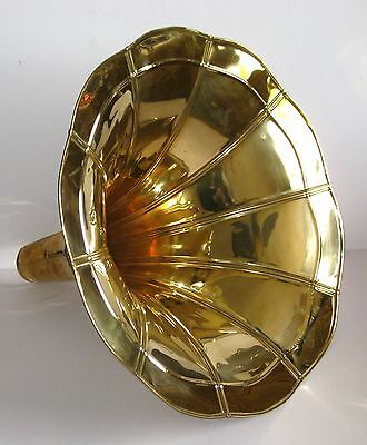 GRAMOPHONE PHONOGRAPH BRASS HORN GRAMAPHONE Lamp Shade Interior Design Unique