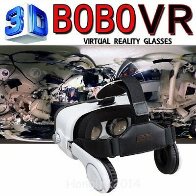 BOBO Z4 New Coming Virtual Reality 3D Immersive VR Glasses Headphone - In Box NW