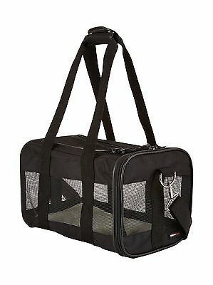 AmazonBasics Black Soft-Sided Pet Carrier - Small