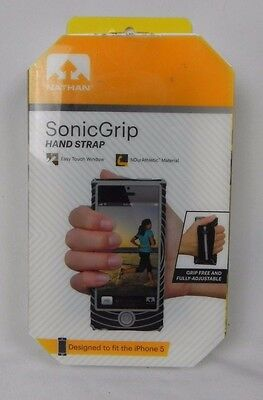 NEW Nathan Athletic Sonic Grip Adjustable Hand Strap iPhone 5 (G1-33)