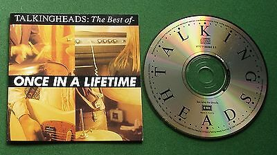 Talking Heads Once In A Lifetime Best Of inc Wild Wild Life / Psycho Killer + CD