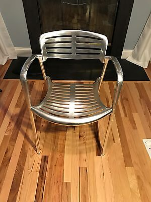 1 Genuine Knoll Amat Toledo Design Jorge Pensi Cafe Chairs