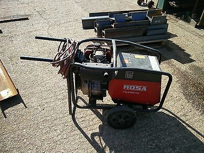 Mosa TS200/CF Diesel Generator welding set 100/190A with 110v and 240v