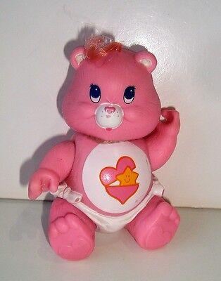 Figurine figur les Bisounours care bear Pampers Ticoquine Hong-Kong 1984 (8cm)
