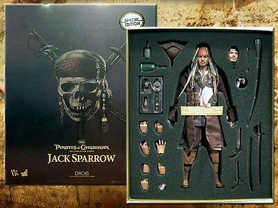 Hot toys ​​Pirates of the Caribbean: On Stranger Tides Captain Jack Sparrow 1/6
