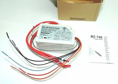 Wattstopper BZ-150 Low Voltage Power Pack w/ Hold On/Off 120/277V to 24 VDC