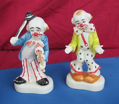 Homco 1445 Clown Figurines Set