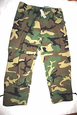 219ea7c718eea Nwt Usgi Ecwcs Gore Tex Cold Weather Woodland Camo Pants Trousers- Large  Regular