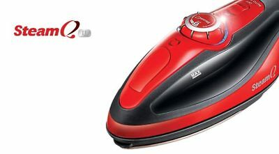 Steam Iron [SteamQ 2] Handy Double Hotplate Smart All-in-one Sterilizer 220V Red