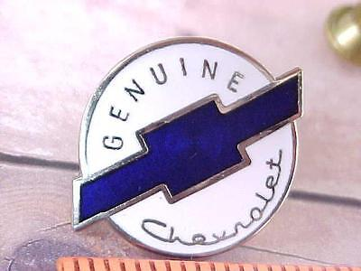 Vintage Chevrolet Chevy Automobile Pin Enameled Auto Show Lapel Pin New Old Stk