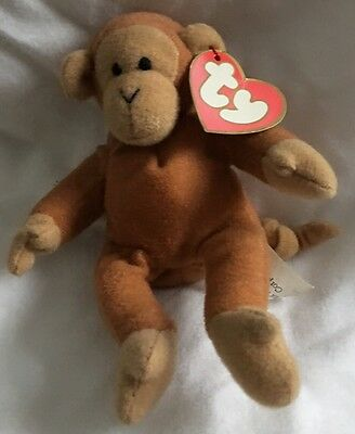 Ty Teenie Beanie Babies BONGO For Mac Donald's