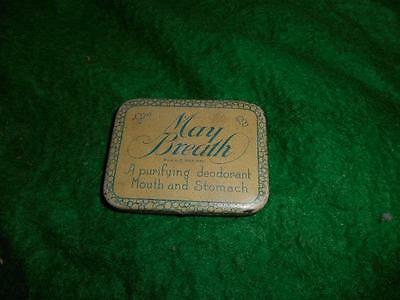 Vintage Mary Breath mouth mints tin