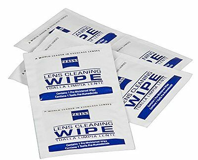 20 Zeiss Lens Wipes for Lenses Glasses Camera Phone etc. Free 1st class post.