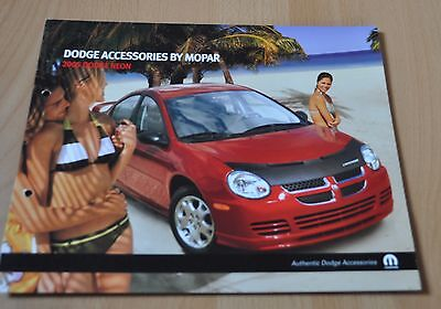 2005 Dodge Neon Accessories Brochure Prospekt