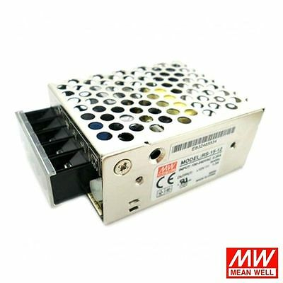 Alimentatore Switching Meanwell Serie RS 15 25 35 50 100 150 Metallico