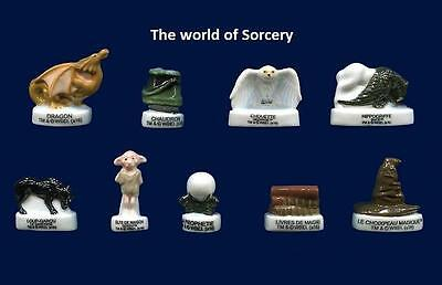 New Amazing Miniature Porcelain,harry Potter'World Of Sorcery'Hippogriffe, Dobby