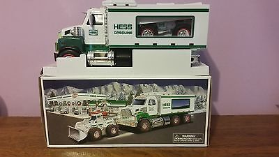 2008 Toy Truck and Front Loader  - Hess - NIB