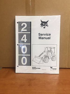 Bobcat 2400 Wheel Loader Service Manual Shop Repair Book Part # 6720455