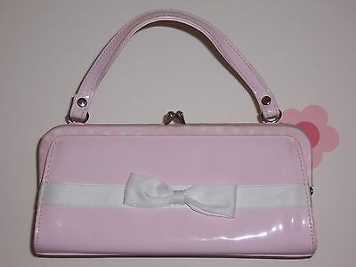 """Gymboree girls """"SWEET as SUGAR"""" PURSE...PINK with BOW...VGUC...EASTER"""