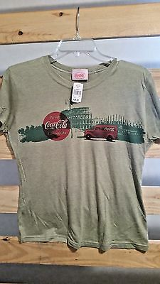 Women's XL Italian Coca-Cola T-shirt