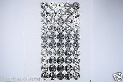 1999-2008 US State Quarter 50 Coin Complete Set 50 Beautiful Uncirculated Coins