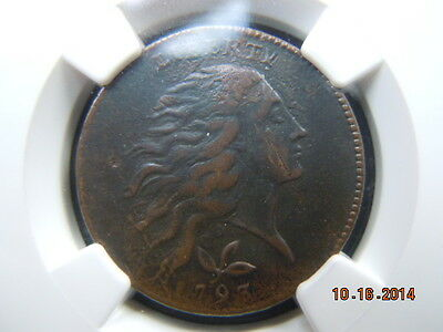 1793 Wreath Large Cent, Ngc Xf Details, S-6, B-7,r-3
