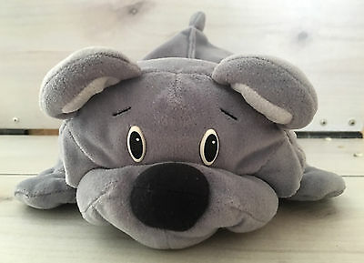 Vintage Fisher Price Gray Rumple Teddy Bear Plush! 17 Inches Stuffed Animal Love