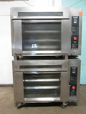 """""""hardt Inferno 3000"""" Hd Commercial Nat-Gas Dbl. Stacked Chicken Rotisserie Ovens"""