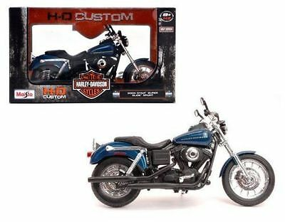 1:12 2003 Dyna Super Glide Sport Harley-Davidson Motor Model Bike Motorcycle Toy