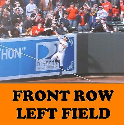 2 Front Row Seats Baltimore Orioles Tickets vs. New York Yankees 9/6/17