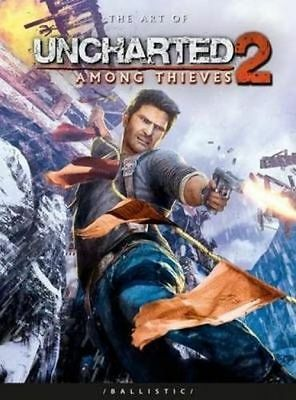 The Art of Uncharted 2: Among Thieves - Like New!