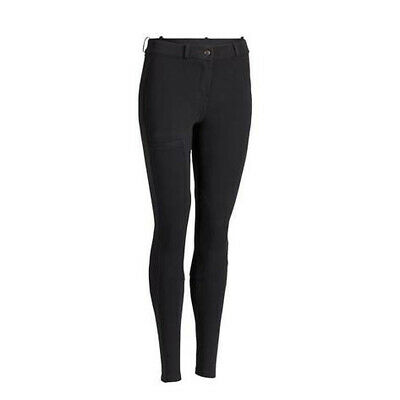 Fashion Men Women Black Horse Riding Breeches Jodphurs Leggings Pants
