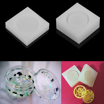 DIY Storage Box Soft Silicone Mold Jewelry Making Resin Casting Mould Craft Tool
