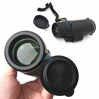 40x60 Telescope Portable Focus Zoom HD Optic Monocular Hunting Camping Hiking US