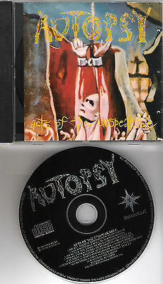 """AUTOPSY original CD """"Acts of the unspeakable"""" 1992 on Peaceville"""