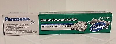 Genuine Panasonic KX-FA93 Ink Film KX-FHD331/ FX-FHD332/KX-FHD351