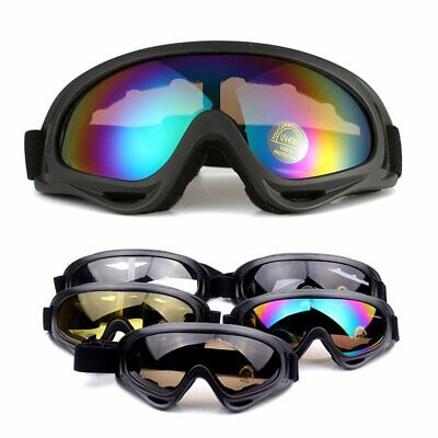 MTB Bicycle Cycling Anti-Fog UV400 Protection Goggles Ski Snow Windproof Glasses