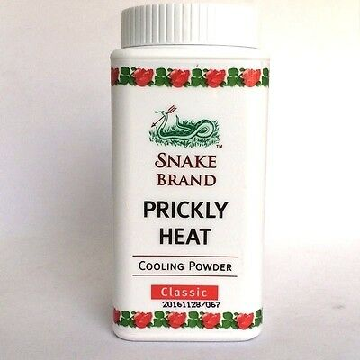 Cooling Powder Very Cool Refreshing Relieves Heat Itching Menthol Classic Scent