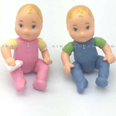 Fisher Price Loving Family Twin Baby Brother Sister Action Figure Boy Girl Dolls