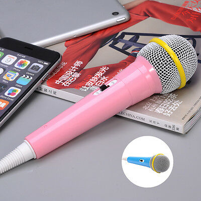 Small Microphone Mic Karaoke Singing Funny Music Toys Gifts for Children Kids