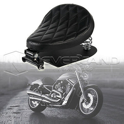 """11.8"""" SOLO Selle Siège Ressort Support Pour Harley 48 Sportster 883 1200 XL"""